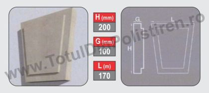 Chei de Bolta polistiren model CBP3