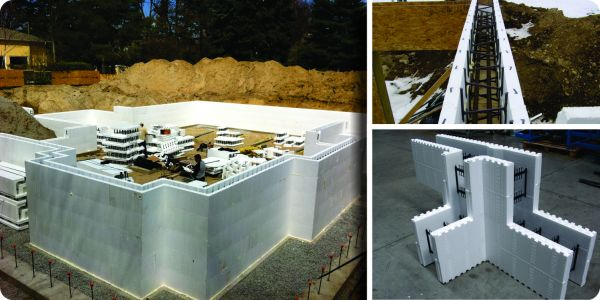 Insulating concrete form Romania