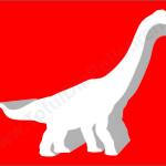 dinozaur polistiren