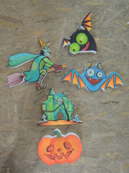 Figurine Halloween din Polistiren